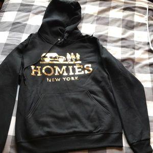 Unisex small Homies hoodie